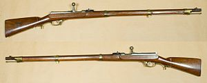 """Dreyse needle gun - M/41 Dreyse needle-gun (""""leichtes Perkussionsgewehr M/41"""")"""