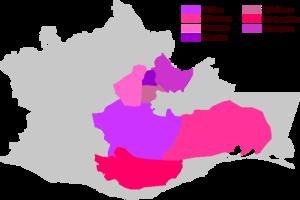 Yatzachi Zapotec - Image: Zapotecan Languages