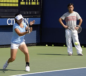 Zheng Jie - Zheng Jie at the 2009 US Open