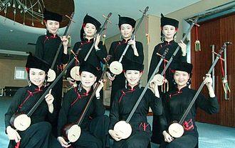 Zhuang people - Zhuang's Women Artists in Longzhou