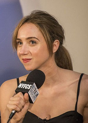 Zoe Kazan - Kazan at a screening of The F Word in 2014