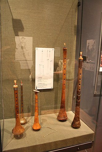 Zurna - A variety of zurna from the Museum of Greek Folk Musical Instruments.