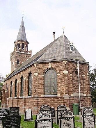 Zurich, Friesland - Image: Zurich Friesland Kerk
