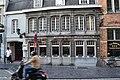 """""""De Beurze met de naam """" Brouwerij Aigle Belgica"""", De Markt, Brugge"""".jpg"""