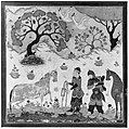 """Rustam Captures Rakhsh"", Folio from a Shahnama (Book of Kings) MET 47055.jpg"