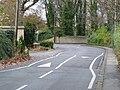 """""""Sleeping policemen"""" on Woodthorpe Lane - geograph.org.uk - 1568066.jpg"""