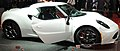 """ 13 .- Exotic italian Sports car - Alfa Romeo 4C Sport car at Auto Show.JPG"