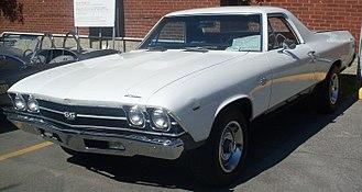 Coupé utility - 1969 Chevrolet El Camino