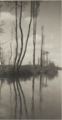 'POPLARS ON A FRENCH RIVER', C. 1900.PNG