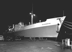 Silver Line (shipping company) - The newly built Silverbriar, February 1948