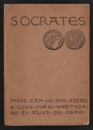 (1883) Socrates. A translation of the Apology, Crito, and parts of the Phaedo of Plato.