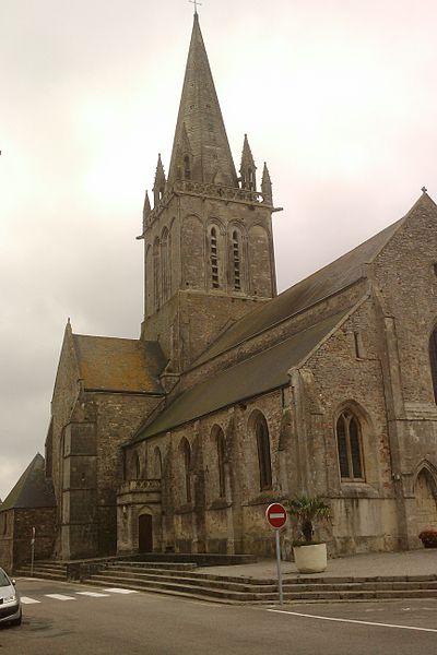 Église Saint-Jacques de fr:Montebourg