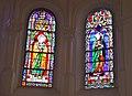 Église de la Trinité de Lachapelle-aux-Pots vitraux 3.JPG