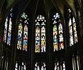 Évreux Cathédrale Notre-Dame d'Évreux Innen Chorfenster.jpg