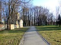 České Budějovice, Pražské sídliště, park.JPG
