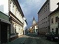 České Budějovice - Černá věž z Hroznové.jpg