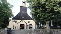 Łeba, Kościół parafialny p.w. Wniebowzięcia NMP.JPG