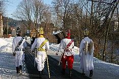 Kolędowanie Trzech Króli w Sopotni Małej na Żywiecczyźnie.
