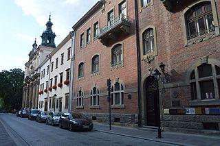 street in Kraków, Poland