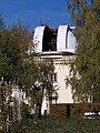 Štefánikova hvězdárna, otevřená kopule.jpg