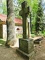 Žeimelis, Peterio Petrausko kryžius.JPG