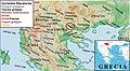 Ελληνικές φυλές αρχαία Ελλάδα Μαιδοι Μακεδόνια Greek tribes Tribus griegas JPG.jpg