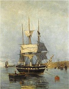 Κωνσταντίνος Βολανάκης - ελληνικό πλοίο.jpg