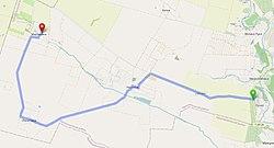 Автошлях С201503 на мапі