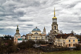 Torzhok - View of Borisoglebsky Monastery