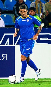 f7a9f3458 Bentley playing for FC Rostov in 2012