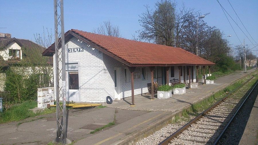 Zemun railway station