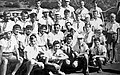 Июль 1962, Артек, II Всес. слёт пионеров Ю.А.Гагарин с духовым оркестром Лен. обл. муз. дет. дома им. Н.А.Римского-Корсакова.jpg