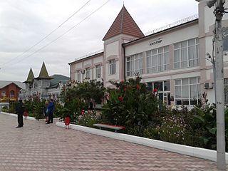 Kizlyar Town in Dagestan, Russia