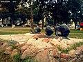 """Скульптурная кампазіцыя """"Сям'я слімакоў"""" ... Sculpture """"The family of snails"""" - panoramio.jpg"""