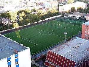 FC Lokomotyv Kyiv - Lokomotyv Stadium in Kiev