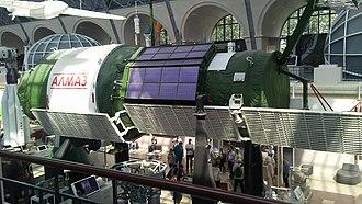 Almaz - Almaz space station at VDNKh (Russia)