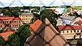 Цесис (Латвия) Вид с колокольни Собора Святого Иакова на Восток - panoramio.jpg