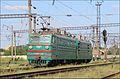 Электровоз ВЛ80К-201 (ТЧ-3 Казатин) следует с Жмеринка Подольская на станцию Жмеринка. - panoramio.jpg