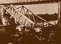 גשר שיח' חוסיין קרס לתוך הירדן 1946 ארכיון ההגנה.jpg