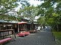 京都・大原にて 三千院門前 Street in front of Sanzen-in 2011.8.28 - panoramio.jpg