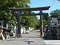 和歌山市伊太祈曽 伊太祁曽神社・一ノ鳥居 Shrine gate of Itakiso-jinja 2011.7.15 - panoramio.jpg