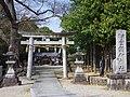 壹須何神社 河南町一須賀 Ichisuka-jinja 2013.3.30 - panoramio (1).jpg