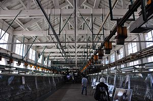 The Tomioka Silk Mill and Related Industrial Heritage - Image: 富岡製糸場・繰糸場
