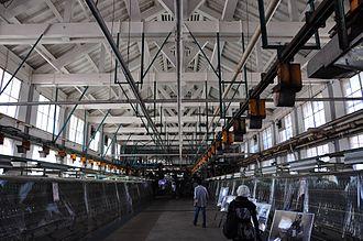 Tomioka Silk Mill - Image: 富岡製糸場・繰糸場