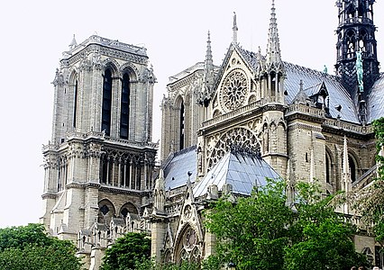 巴黎聖母院 Cathedrale Notre-Dame de Paris - panoramio.jpg
