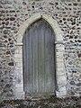 -2018-10-28 12 century doorway, All Saints, Edingthorpe, Norfolk.JPG