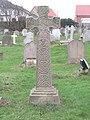 -2019-01-03 Celtic cross memorial, he churchyard, All Saints parish church, Mundesley.JPG