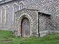 -2020-12-09 The north porch and doorway, Saint Nicholas, Salthouse.JPG