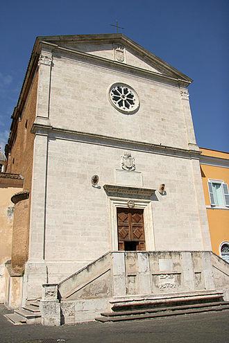 San Pietro in Montorio - Image: 001San Pietro in Montorio Rome