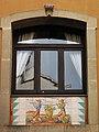 023 Can Solé (Barcelona), detall de la façana del c. Sant Elm 14-16.jpg